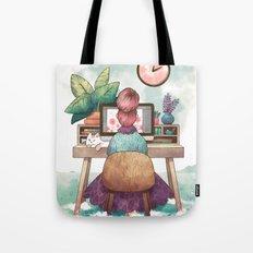Workspace Tote Bag