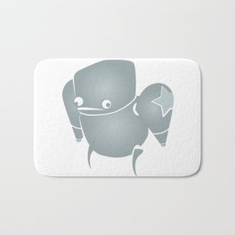minima - slowbot 001 Bath Mat