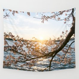 Sun Over the Horizon Wall Tapestry