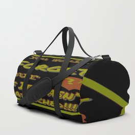 Don't Forget Your Head Duffle Bag