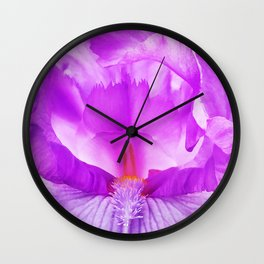 484 - Inside an Iris Wall Clock
