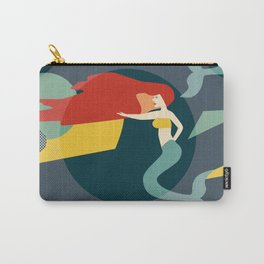 Colour Block Mermaids Carry-All Pouch