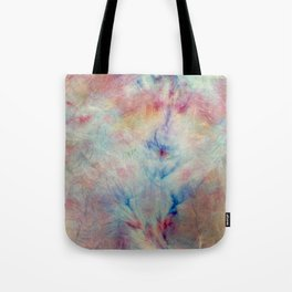 Tye Dye Kaleidoscope Sunset Tote Bag