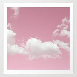Sweetheart Sky Art Print