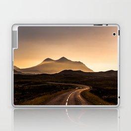 Sunset Mountain Road Laptop & iPad Skin