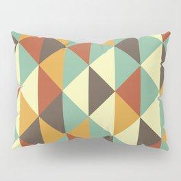 Triangle stencil Pillow Sham