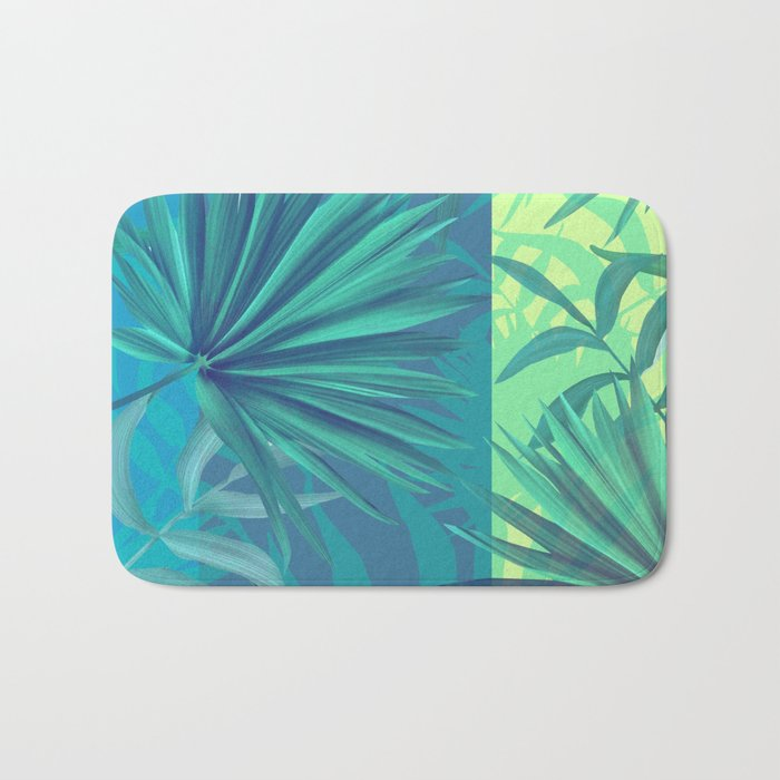 soft tropic Bath Mat