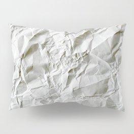 Crinkled Blues Pillow Sham