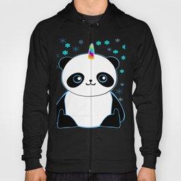 Pandacorn in the Snow Hoody