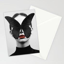 BLACK BUTTERFLY Stationery Cards