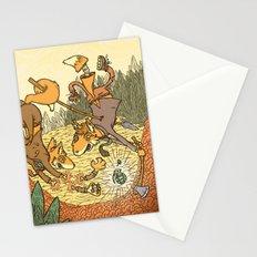 Brain Fox Stationery Cards
