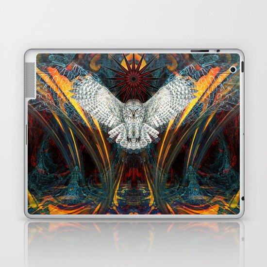 The Great Grey Owl Laptop & iPad Skin