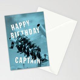 Happy Birthday Captain! Stationery Cards