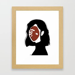 Inner Demons Framed Art Print