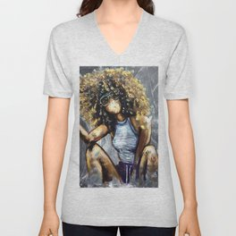 Naturally Nia Unisex V-Neck
