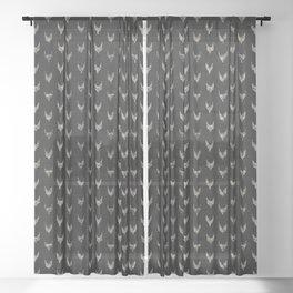BOGO IKAT Sheer Curtain