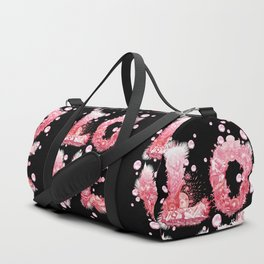 Bubble Love Duffle Bag