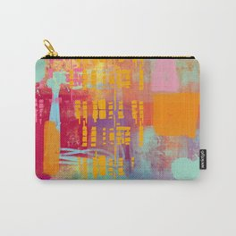 another day another party - abstract painting Carry-All Pouch
