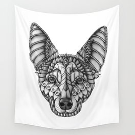 Ornate Australian Kelpie Wall Tapestry