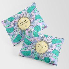 Sun Healing Psychedelic Mandala Pillow Sham