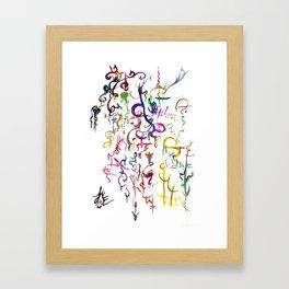 LME-Symboltanz Framed Art Print
