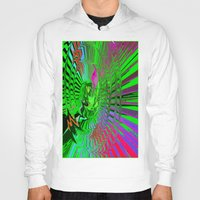 psychedelic Hoodies featuring Psychedelic  by Elizabet Chacon Artworks