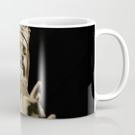 Crowned Statue Has Something to Say Coffee Mug