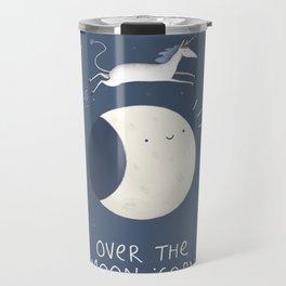 Over the Moon-icorn Travel Mug
