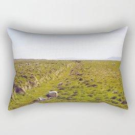 Sheeps in Iceland Rectangular Pillow