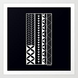 Roots - White Art Print