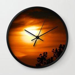 Sunset 4 Wall Clock
