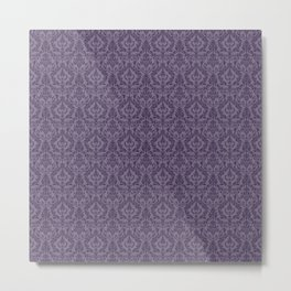 Posh Purple Metal Print