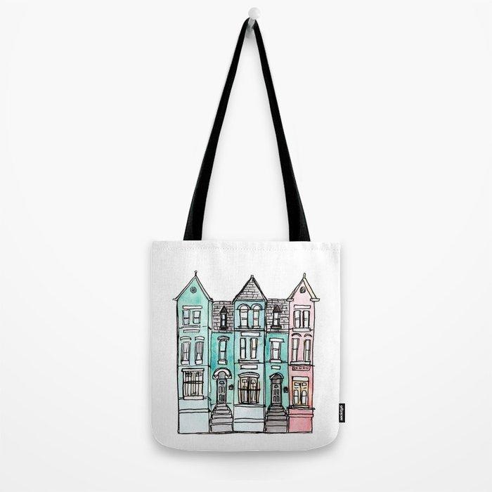 DC Row House No. 2 II U Street Tote Bag