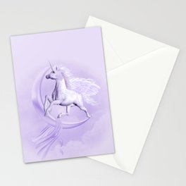 Flying Pegasus Stationery Cards