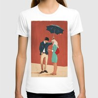 broadway T-shirts featuring Broadway Bus Stop by Stephan Parylak