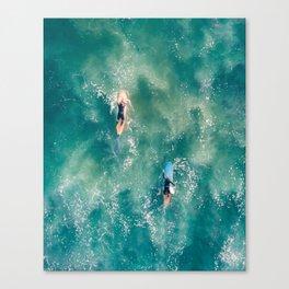 Galatic Surfers Canvas Print