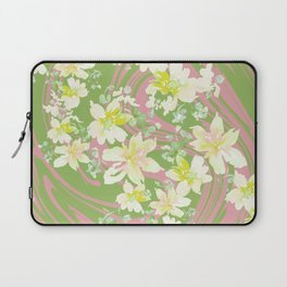 Grace Floral Swirl Laptop Sleeve