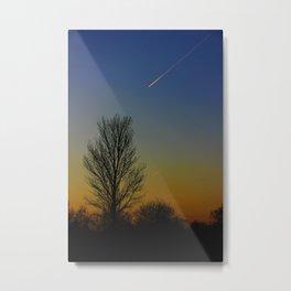 Shoot across the sky.... Metal Print