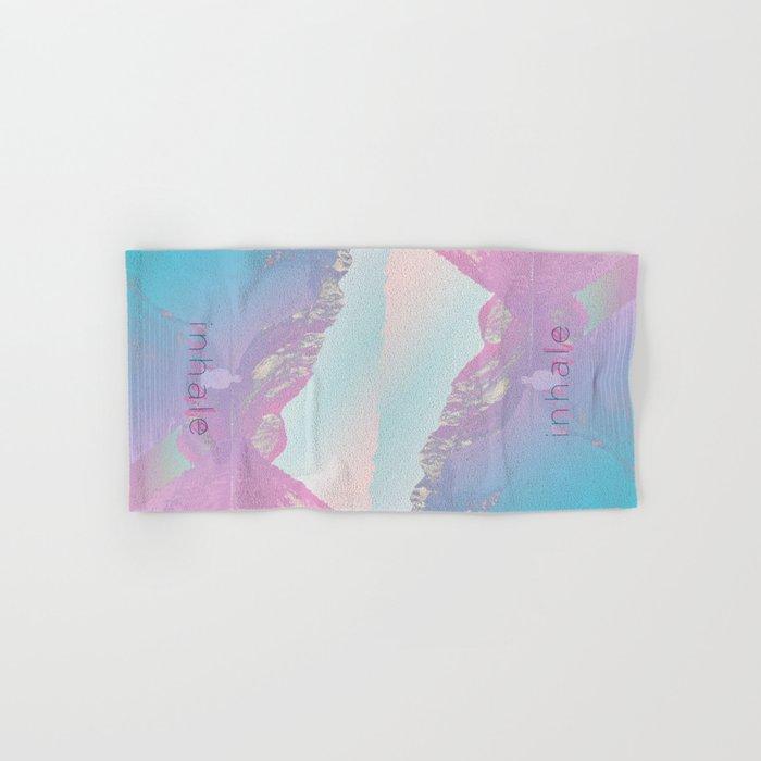 Inhale / Exhale Hand & Bath Towel