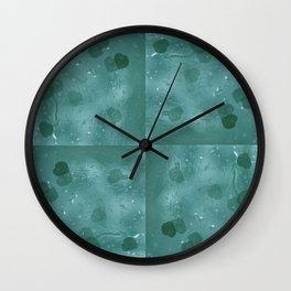 Crying Hearts 2 Wall Clock