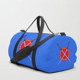 Katana Sword Design Duffle Bag