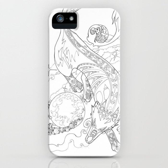 Gern Finds A World iPhone Case