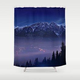 The Mountain's Dream Shower Curtain