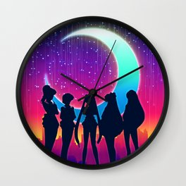 Sailor Moon & Her Guardians Wall Clock