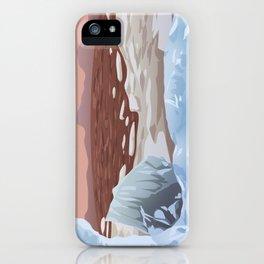 Mars Polar Caps iPhone Case