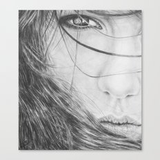 Windswept Beauty Canvas Print