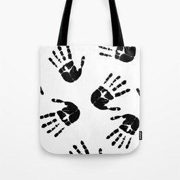 Fingerprints Tote Bag