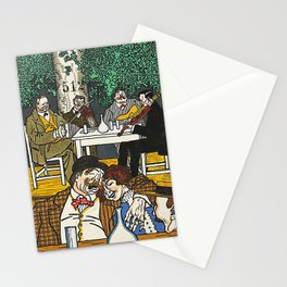 At the Heuriger (Beim Heurigen) 1911 Stationery Cards