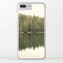 Reflected Forest Clear iPhone Case