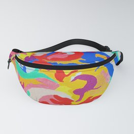 Filtered Swirl 1 Fanny Pack